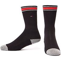 Tommy Hilfiger 2 Pack Iconic Crew Socks Junior - Black - Kids