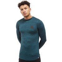Supply & Demand Hendrick Long Sleeve T-Shirt - blue - Mens