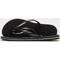 Havaianas Slim Brasil Flip Flops Women s   Black