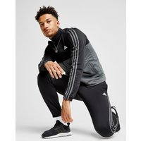 adidas 3-Stripes Poly Tracksuit - Only at JD - Black - Mens, Black