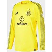 New Balance Celtic FC 2018/19 Home Goalkeeper Shirt - Yellow - Mens, Yellow