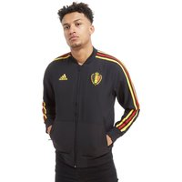 adidas Belgium 2018 Presentation Jacket - Black - Mens, Black
