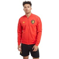 adidas Belgium 2018 Z.N.E Jacket - Red - Mens, Red