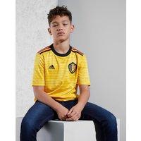 adidas Belgium 2018 Away Shirt Junior - Gold - Kids, Gold