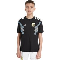 adidas Argentina 2018 Away Shirt Junior - Black - Kids, Black