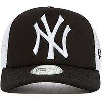 New Era MLB New York Yankees Snapback Trucker Cap - Black/White - Mens