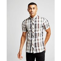 Fred Perry Check Shirt - Blue/White - Mens