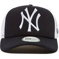 New Era MLB New York Yankees Snapback Trucker Cap - Navy/White - Mens