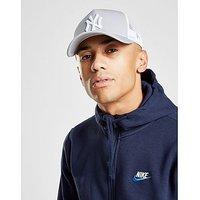 New Era MLB New York Yankees Snapback Trucker Cap - Grey/White - Mens