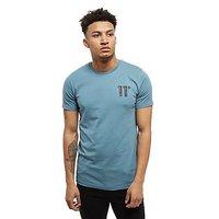 11 Degrees Core T-Shirt - Ash Blue - Mens
