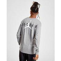 Jordan Long Sleeve Back Logo T-Shirt - Mens