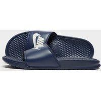Nike Benassi Just Do It Slides - blue - Mens, blue