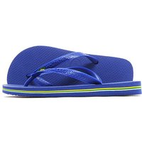 Havaianas Brazil Flip Flops - Dark Blue/Yellow/Green - Mens