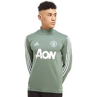 adidas Manchester United FC Training Top - Green/White - Mens