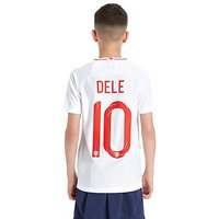 Nike England 2018 Dele #10 Home Shirt Junior - White - Kids