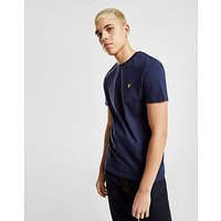 Lyle & Scott Crew Neck Short Sleeve T-Shirt - Navy - Mens