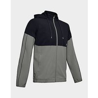 Under Armour Recover Woven WU FZ Jacket   Gravity Green   Mens