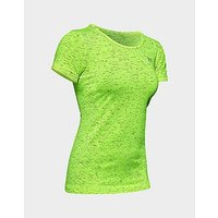 Under Armour UA Seamless Melange SS T Shirt   X Ray   Womens