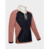 Under Armour Stretch Woven 1 2 Zip Jacket   Cedar Brown   Mens
