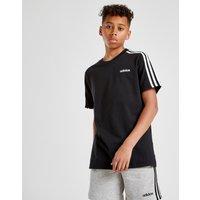 adidas 3-Stripes T-Shirt Kinder - Schwarz - Kids, Schwarz