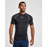 Under Armour HeatGear Compression T-Shirt - Black - Mens