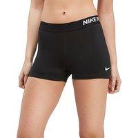 Nike Pro 3 Shorts - Black/White - Womens