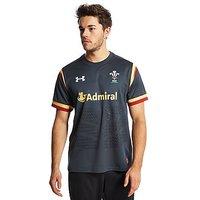 Under Armour Wales RU Away 2015/16 Shirt - Grey - Mens