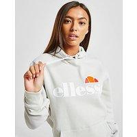 Ellesse Core Boyfriend Logo Hoodie   Grey   Womens