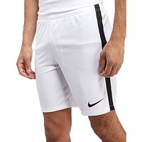 Nike Academy Poly Shorts - White/Black - Mens