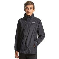 The North Face Resolve Light Jacket Junior - Black/Grey - Kids