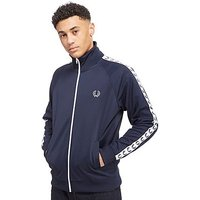 Fred Perry Laurel Wreath Tape Track Top - Navy - Mens