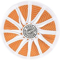 Brookhaven Beach Fly Disc - White/Light Brown - Mens