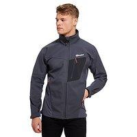 Berghaus Ghlas Softshell Jacket - Dark Grey - Mens