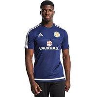 adidas Scotland FA 2015/16 Training Jersey - Dark Blue - Mens