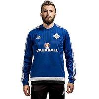 adidas Northern Ireland Sweatshirt - Blue - Mens