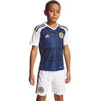 adidas Scotland 2016 Home Shirt Junior - Navy/White - Kids