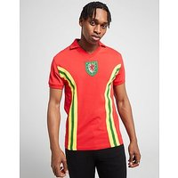 Official Team Wales Home 1976 Shirt - Red - Mens