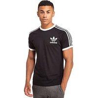 adidas Originals California Short Sleeve T-Shirt - Black - Mens