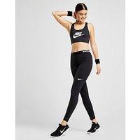Nike Pro Training Tights - Black/White - Womens