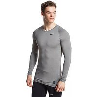 Nike Pro Cool Compression Longsleeve Top - Dark Grey - Mens