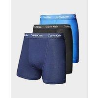 Calvin Klein 3-Pack Boxer Shorts - Black/Navy/Blue - Mens