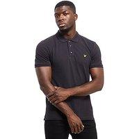 Lyle & Scott Basic Short Sleeve Polo Shirt - Black - Mens