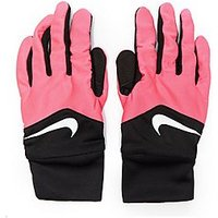 Nike Dri-FIT Tempo Running Gloves - Black/Pink - Womens