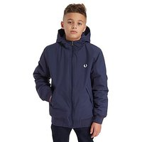 Fred Perry Hooded Bomber Jacket Junior - Navy - Kids
