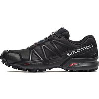 Salomon Speedcross 4 Trail Running Shoes - Black/Black - Mens