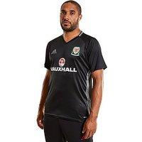 adidas Wales 2016/17 Training Jersey - Black - Mens