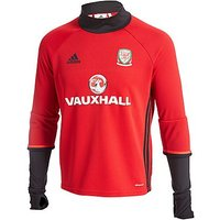 adidas Wales 2016/17 Training Top Junior - Red - Kids