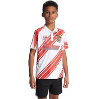 Carbrini Stevenage FC 2016/17 Home Shirt Junior - White/Red - Kids