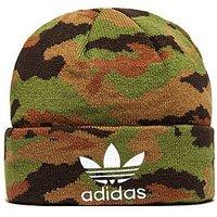 adidas Originals Camouflage Beanie Hat - Camouflage - Mens