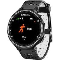 Garmin Forerunner 230 GPS Watch - Black/White - Mens